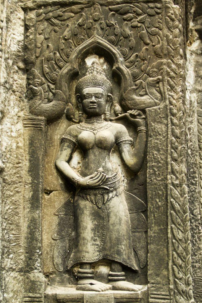 Angkor, Ta Prohm, Apsara