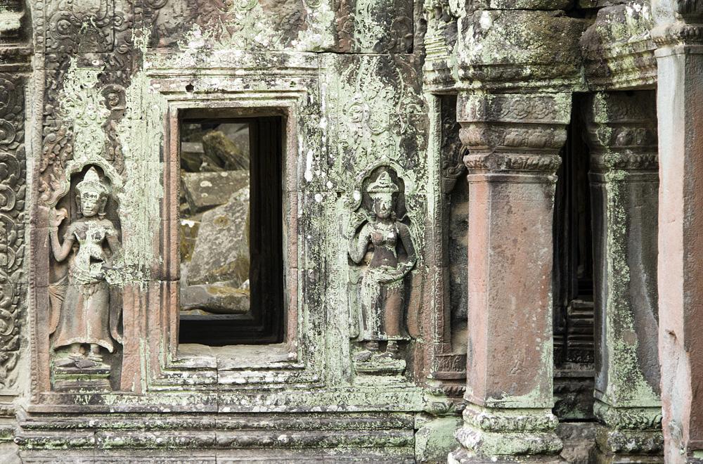 Angkor, Ta Prohm, Apsaras