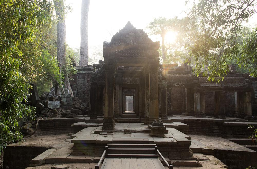 Angkor, Ta Prohm, Eingang