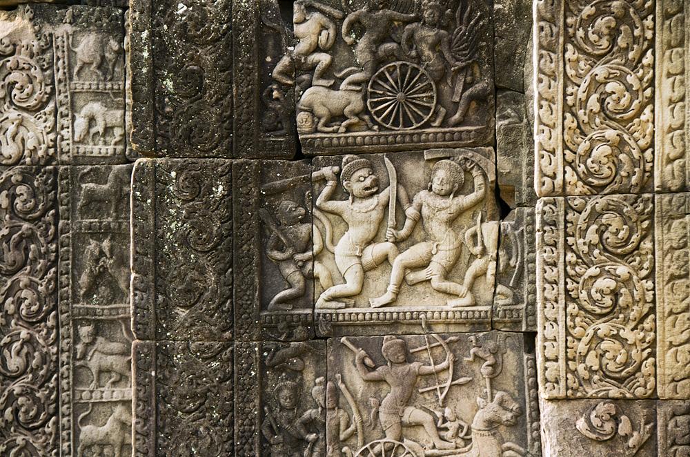 Angkor, Baphuon, Relief