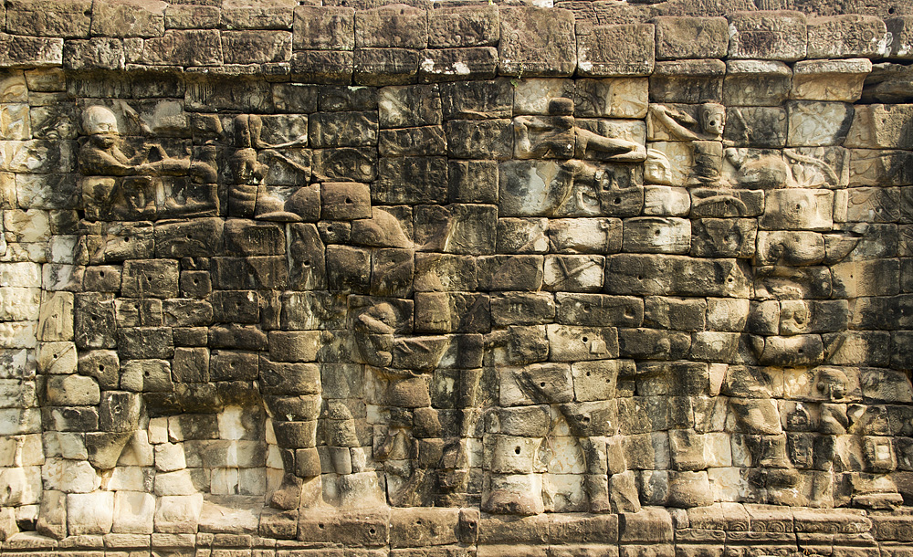 Angkor Thom, Elefententerrasse