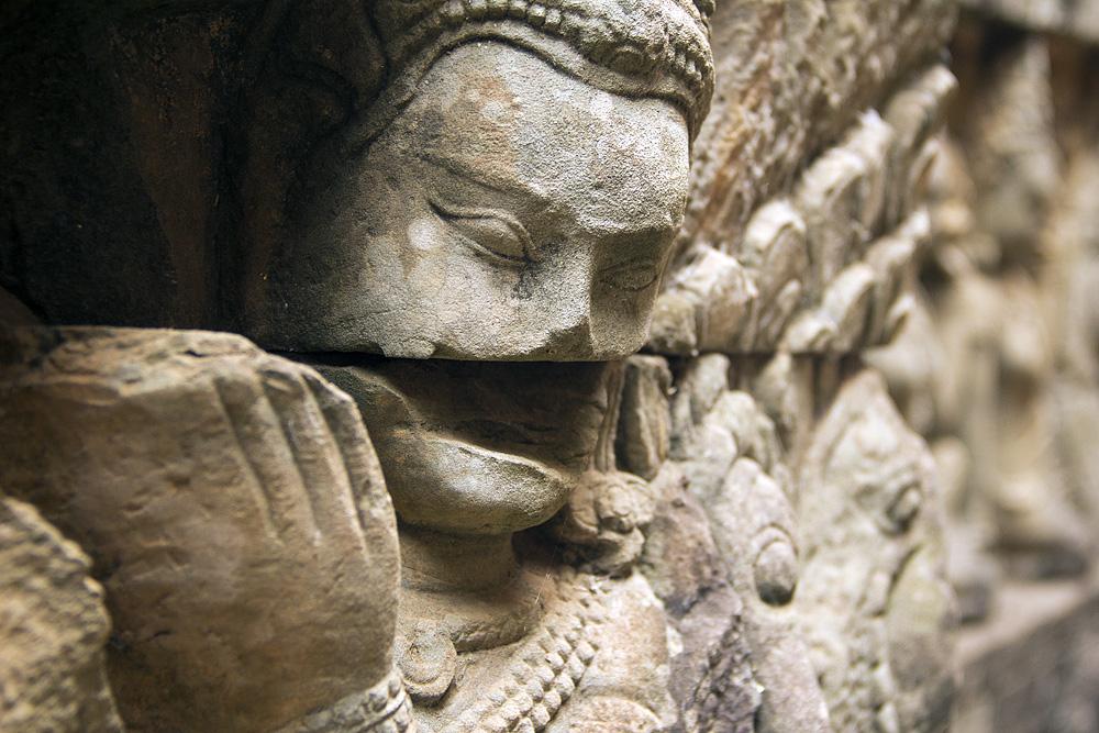 Angkor Thom, Terrasse des Leprakönigs