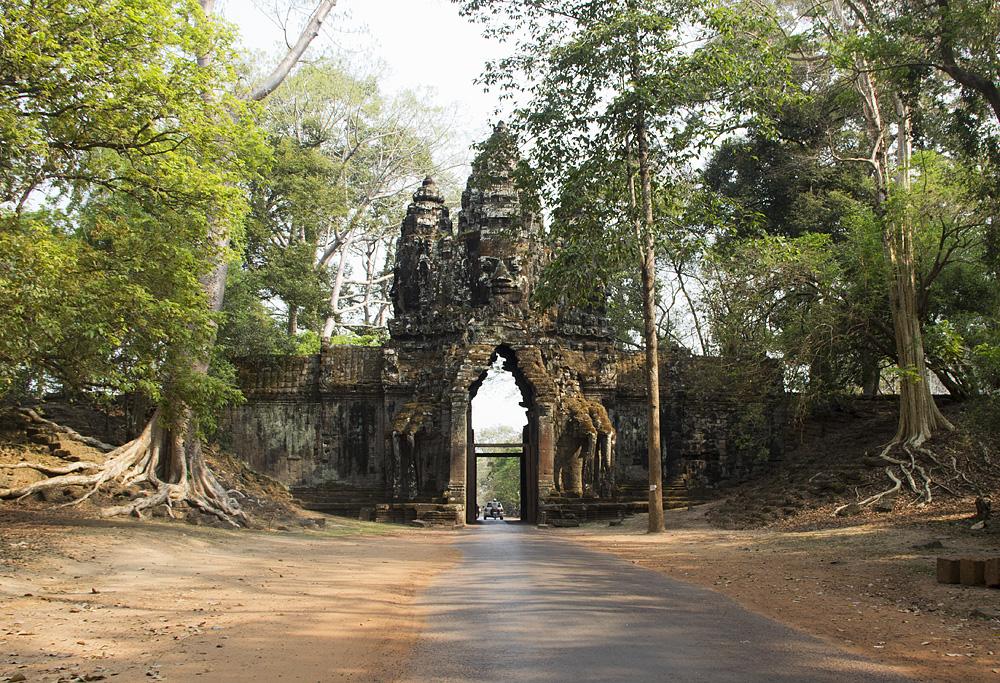 Angkor Thom, Nordtor