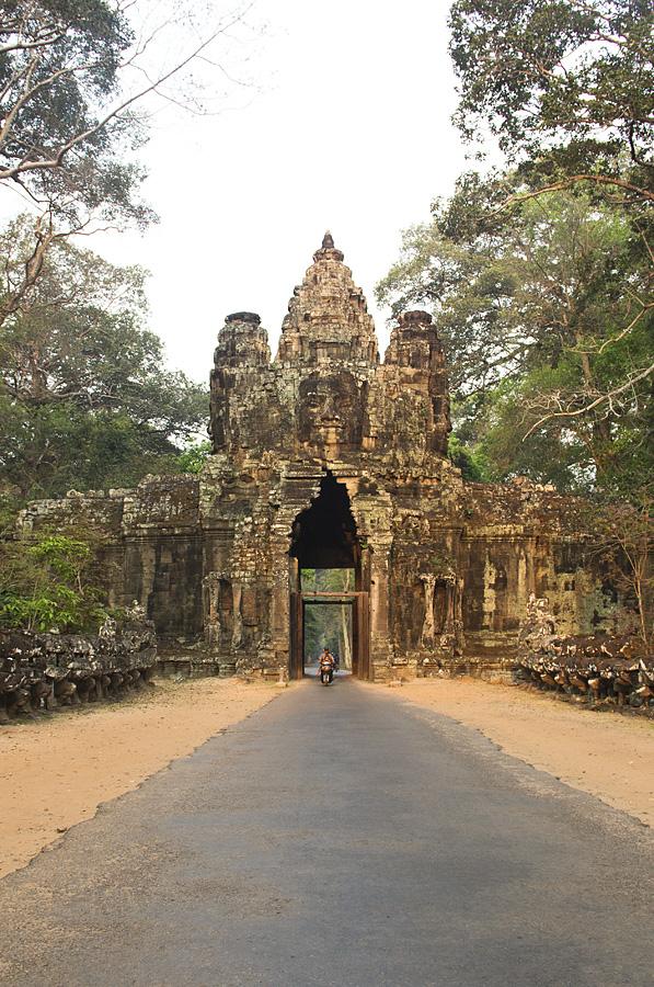 Angkor Thom, Siegestor