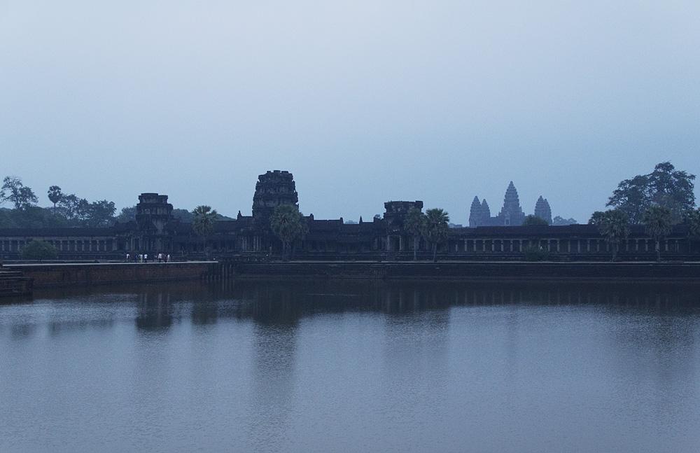 Angkor Wat, Morgendämmerung