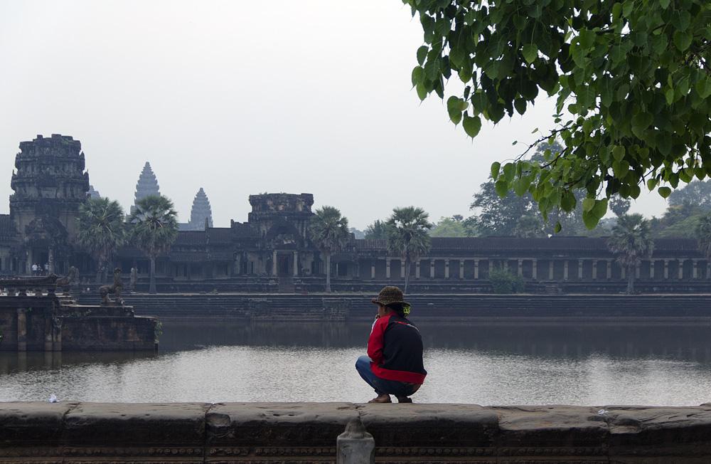 Angkor Wat, Graben