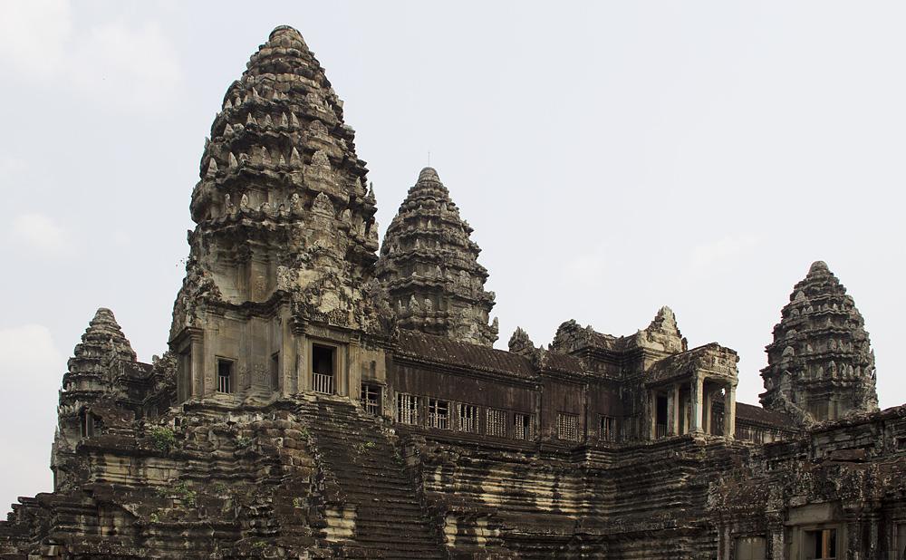 Angkor Wat, Türme