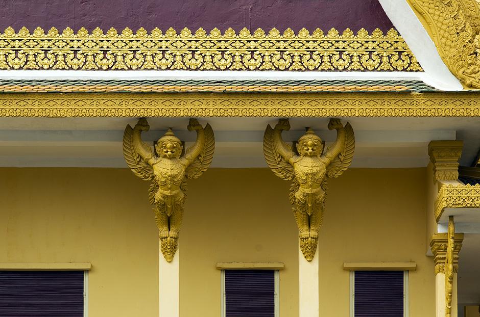 Königspalast, Thronhalle, Garuda