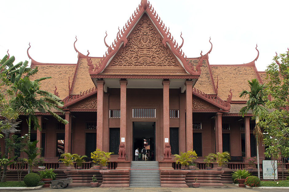 Phnom Penh, Nationalmuseum, Eingang