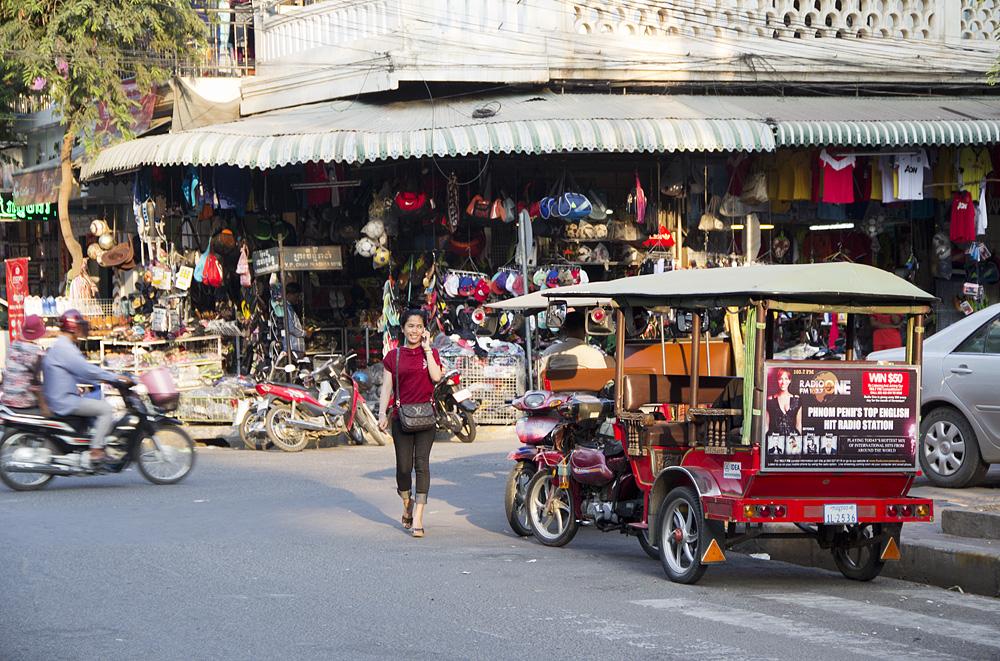 Phnom Penh, Norodom Boulevard