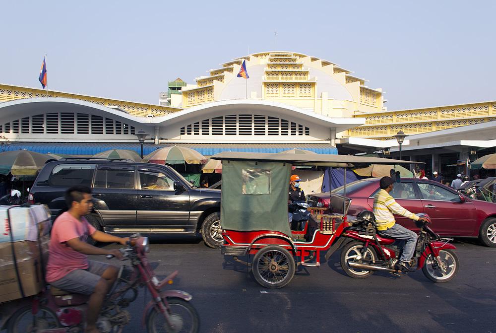 Phnom Penh, Zentralmarkt