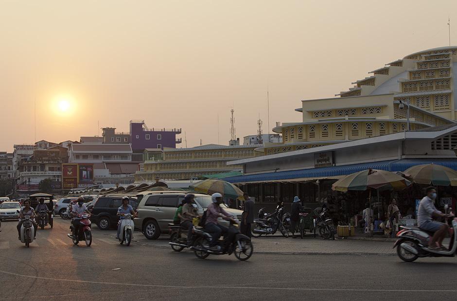 Phnom Penh, Zentralmarkt, Psah Thmay