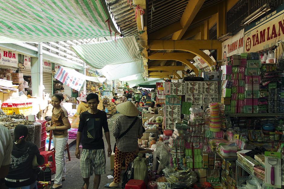 Saigon, Cholon, Chinatown, Bình-Tây-Markt