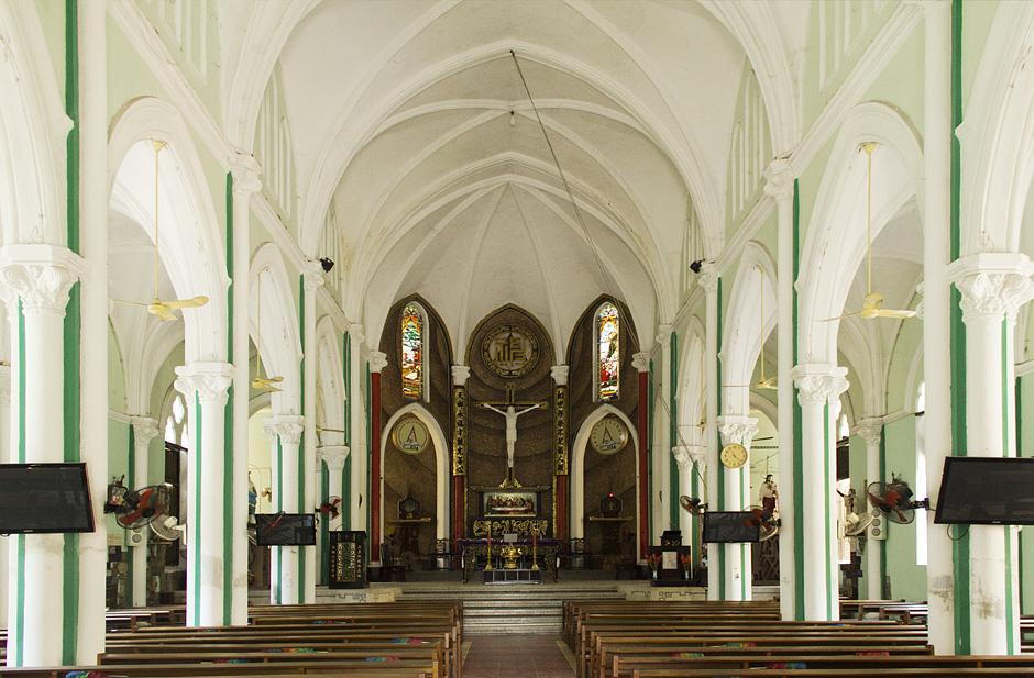 Saigon, Cholon, Chinatown, Cha-Tam-Kirche