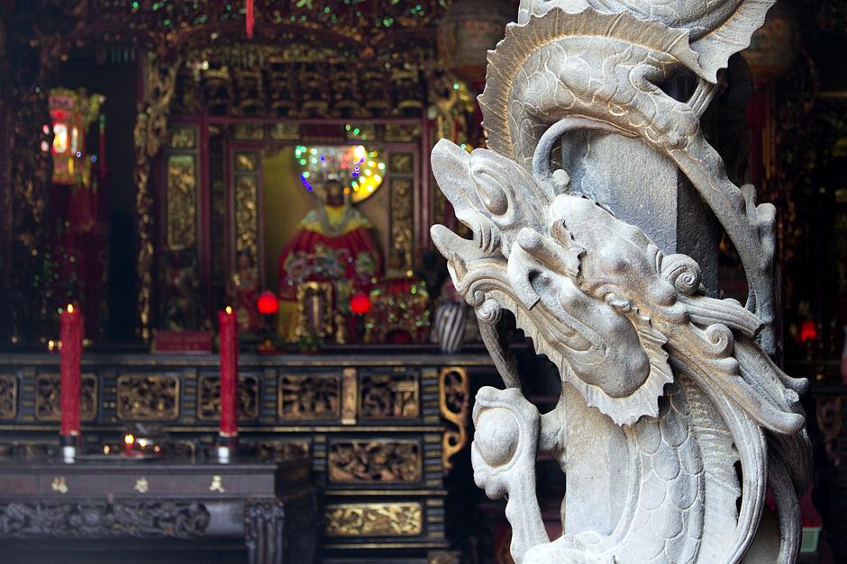 Saigon, Cholon, Chinatown, Hội quán Hà Chương