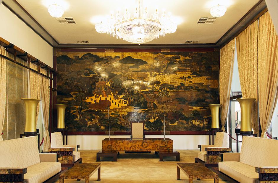 Saigon / Ho-Chi-Minh-Stadt, Unabhängigkeitspalast, Credential room