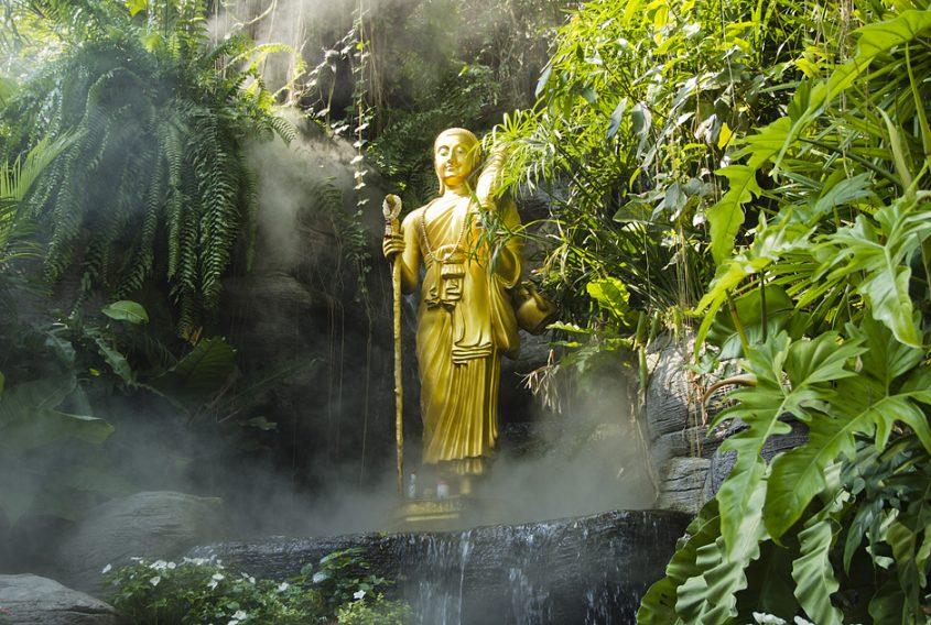 Bangkok, Golden Mount, Buddha