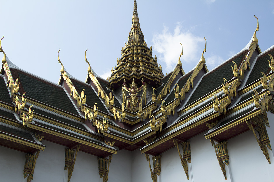 Bangkok, Grand Palace, Dusit Maha Prasat Hall