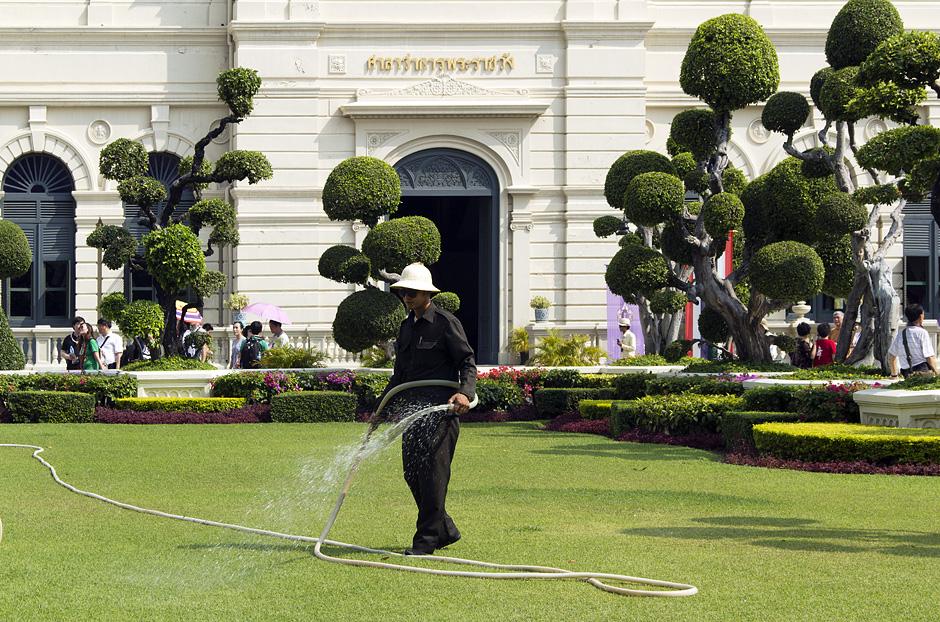 Bangkok, Grand Palace, Zentraler Hof
