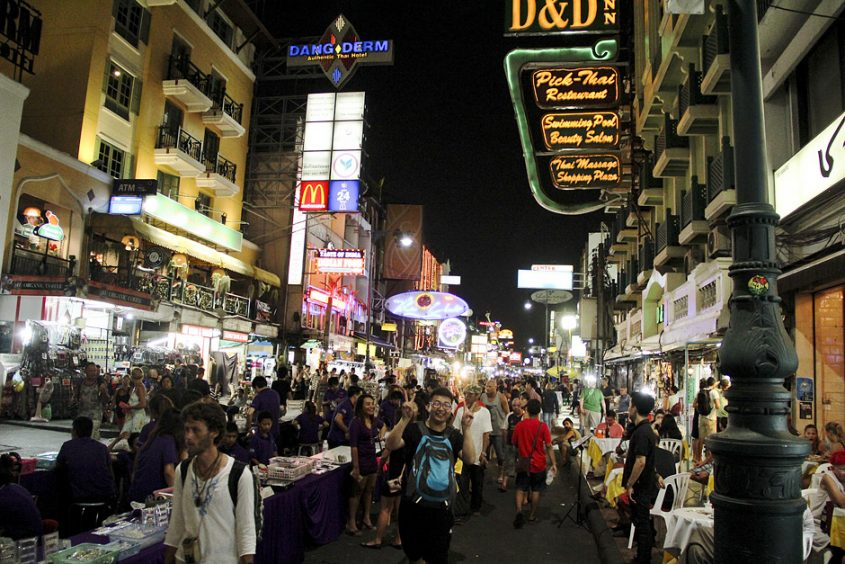 Bangkok, Thanon Khao San
