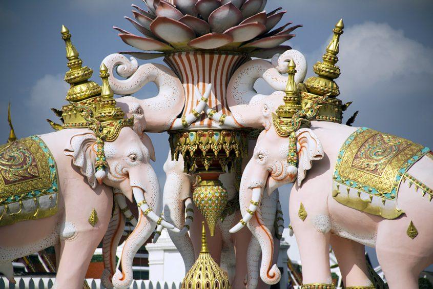 Bangkok, Erawan-Denkmal am Sanam Luang