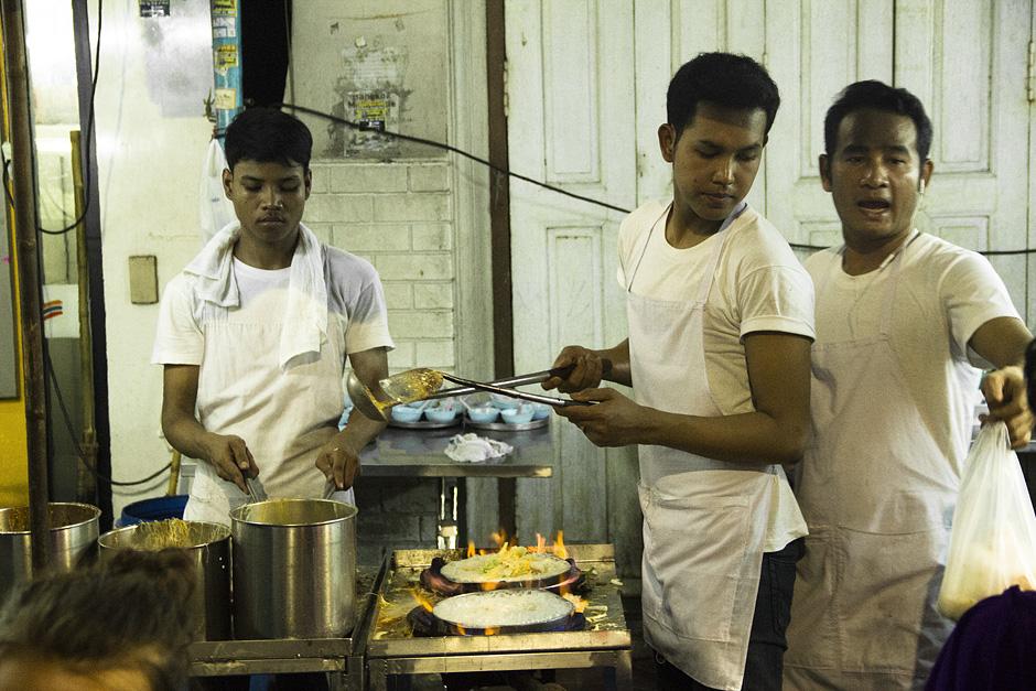 Bangkok, Thanon Tani, Garküche