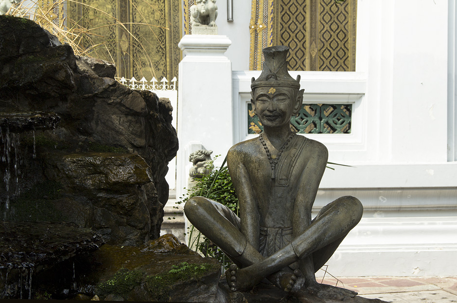 Bangkok, Wat Pho, Eremit