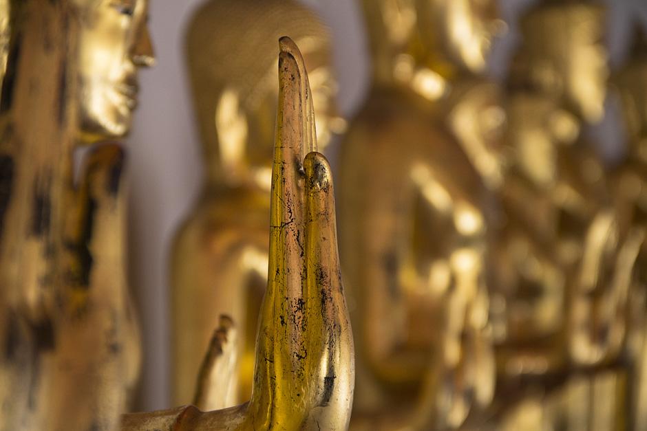 Bangkok, Wat Pho, Galerie der Buddhas