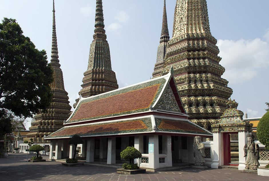 Bangkok, Wat Pho, Sala Rai