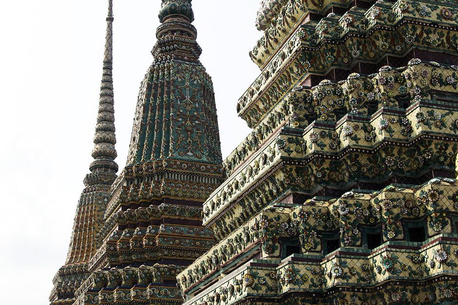 Bangkok, Wat Pho, Phra Maha Chedis