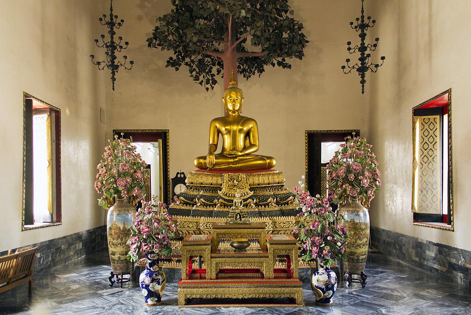 Bangkok, Wat Pho, Phra Lokanad, buddha