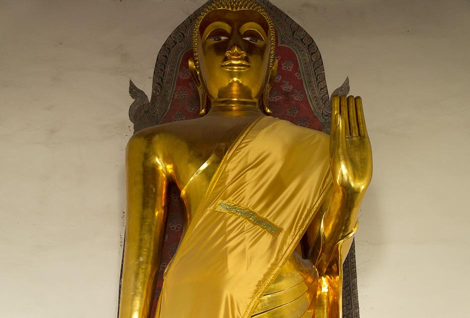 Bangkok, Wat Pho, Phra Lokanad, Buddga