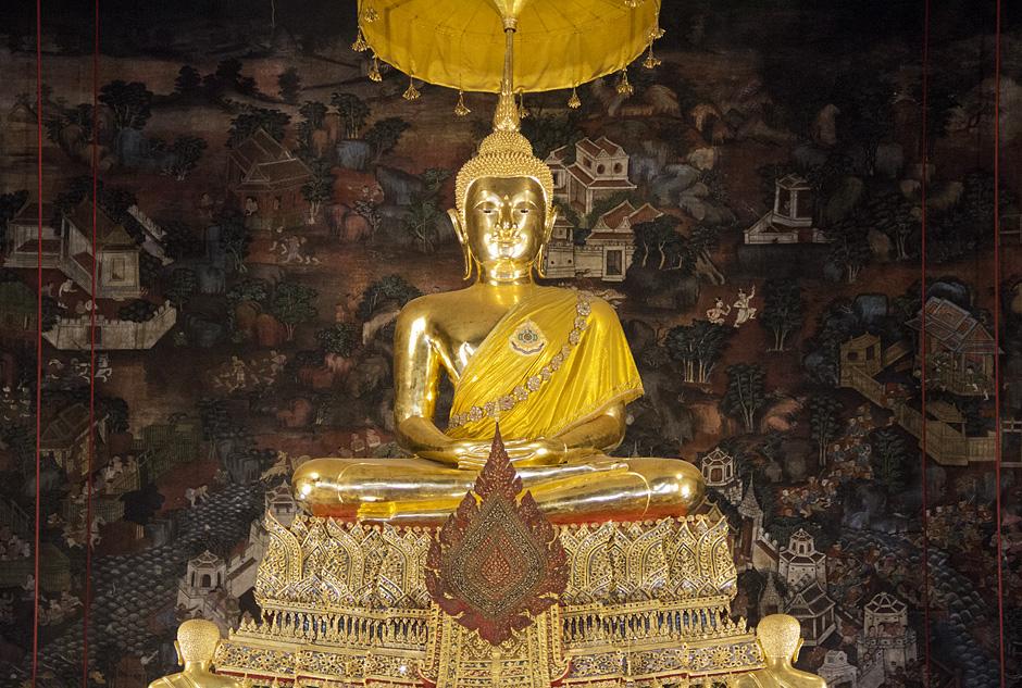 Bangkok, Wat Pho, Phra Ubosot