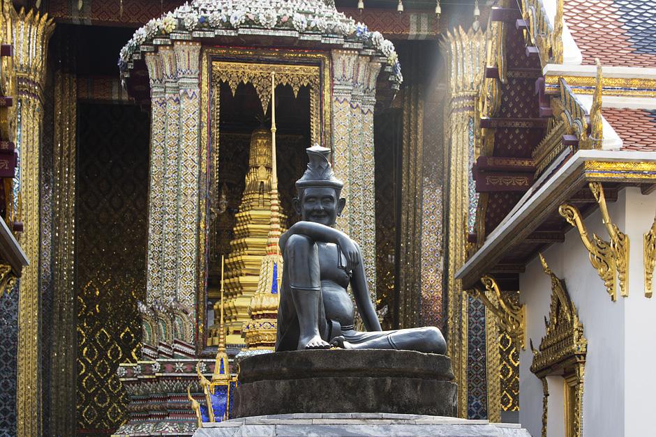 Bangkok, Wat Phra Keo, Hermit