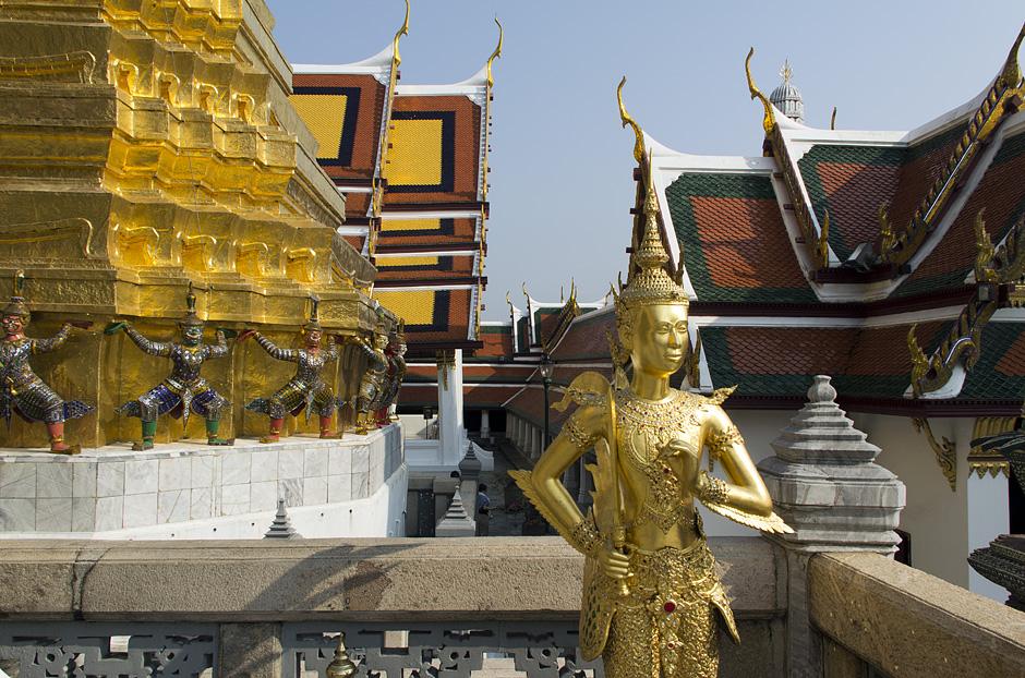 Bangkok, Wat Phra Kaeo, Kinnara