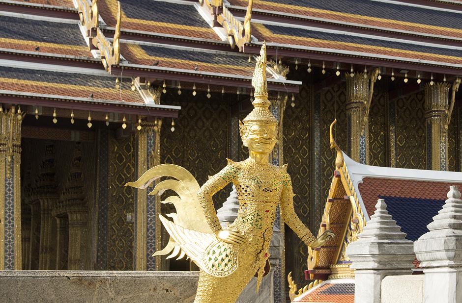 Bangkok, Wat Phra Keo, Kinara