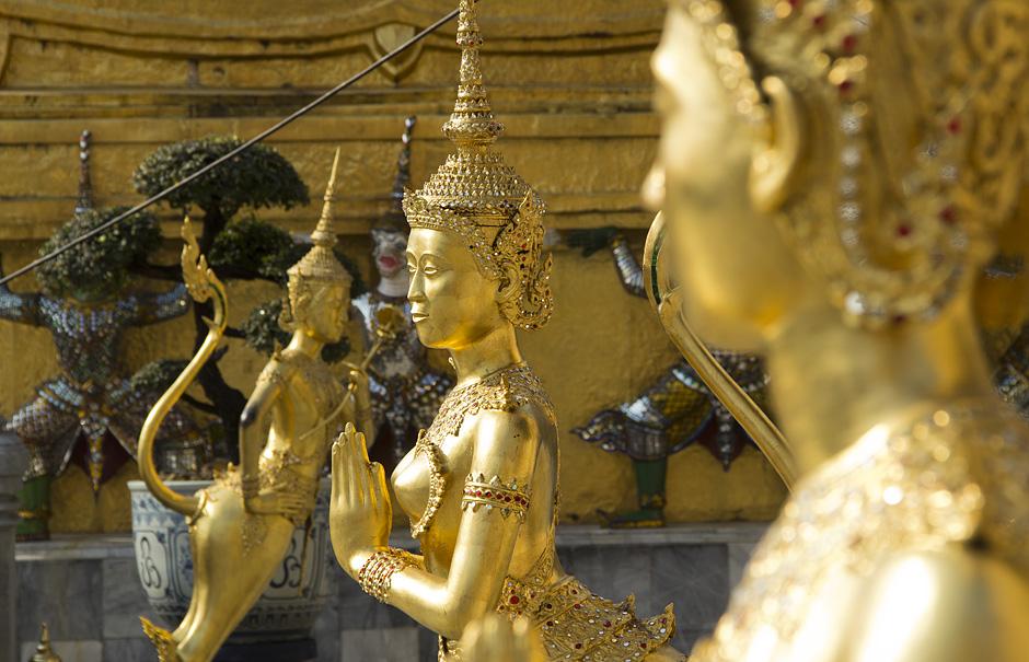 Bangkok, Wat Phra Kaeo,Kinnari