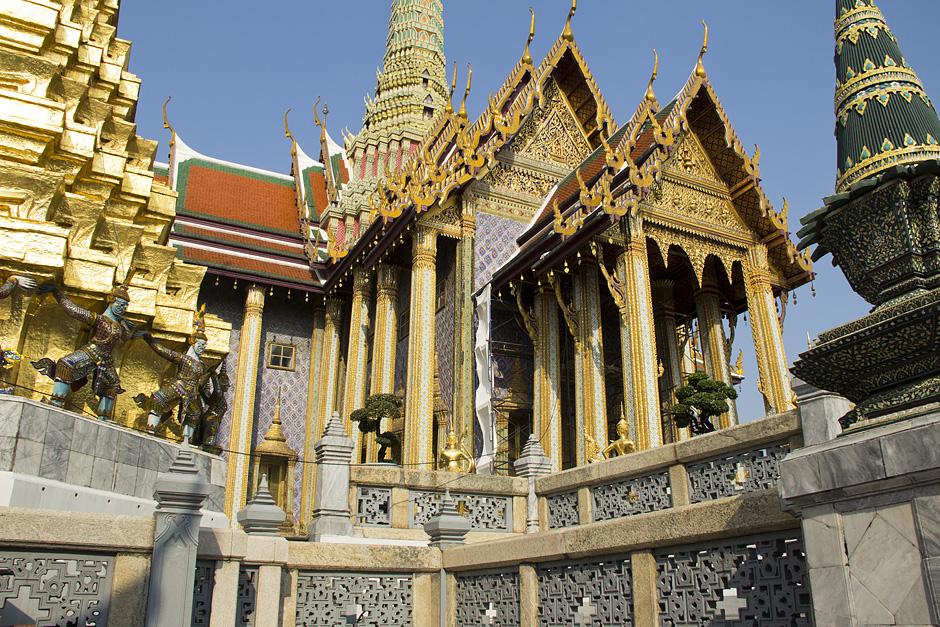 Bangkok, Wat Phra Keo, Prasart Phra Thepbidorn