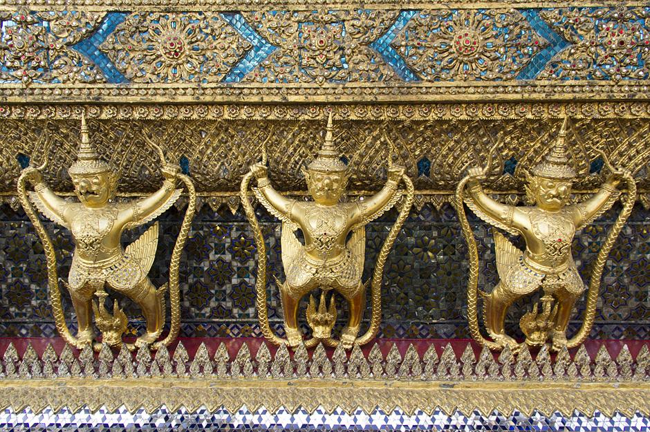 Bangkok, Wat Phra Keo, Phra Ubosot
