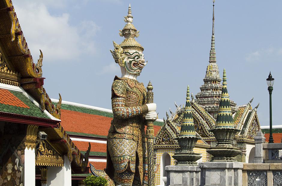 Bangkok, Wat Phra Kaeo, Yaksha