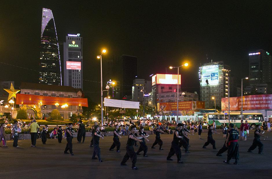 Ho Chi Minh City, District 1, Nähe Bến-Thành-Markt