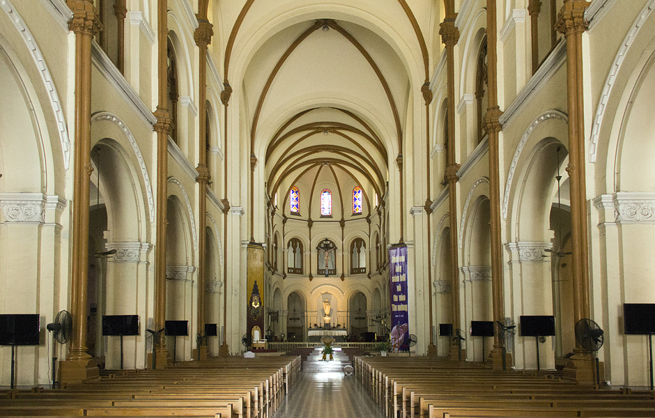 Ho Chi Minh City, District 1, Cathedral Notre-Dame