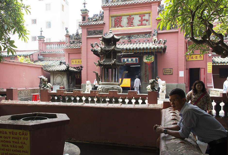 Ho Chi Minh City, District 1, Pagode des Jadekaisers