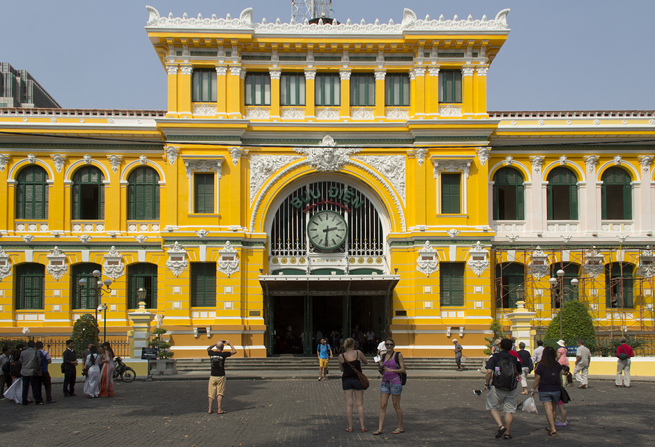 Ho Chi Minh City, District 1, Central Post Office