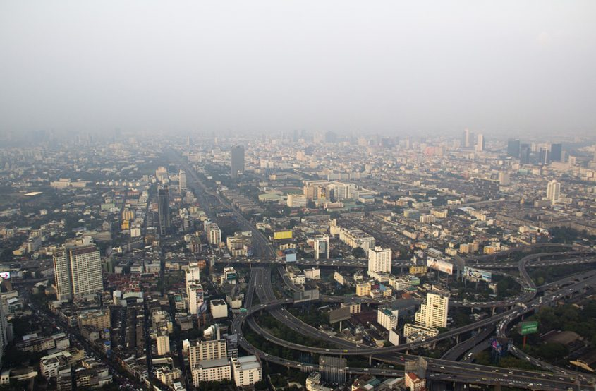Bangkok, Aussicht vom Baiyoke Tower II