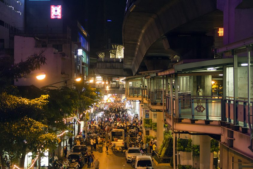 Bangkok, Skytrain-Station Silom