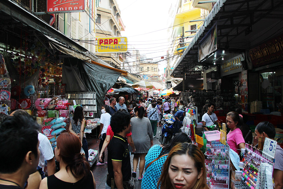 Bangkok, Chinatown, Samphanthawong, Sampeng Lane