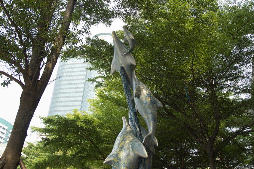 Bangkok, Dolphins, Siam Square