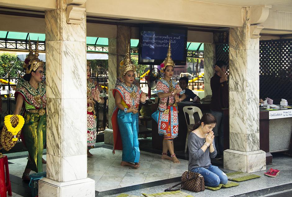 Bangkok, Erawan-Schrein