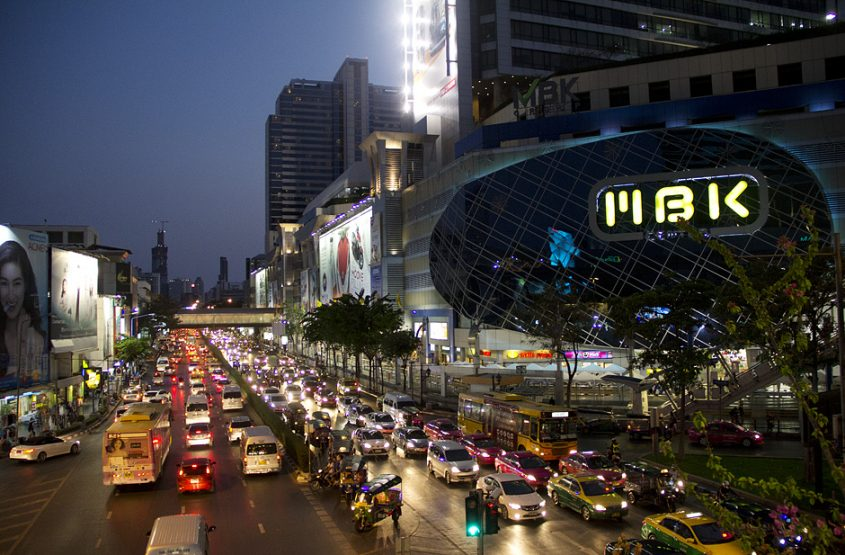 Siam Square, Nacht